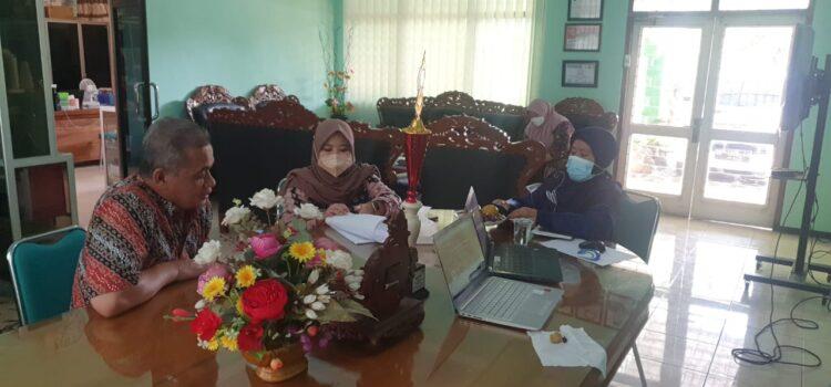 Pendampingan Pengelolaan Keuangan Tahun Anggaran 2021 pada MTsN 2 Kota Kediri oleh Inspektorat Jenderal Kementerian Agama Republik Indonesia